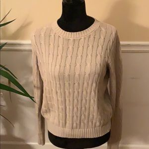 2 for $20 American Apparel Cable knit sweater